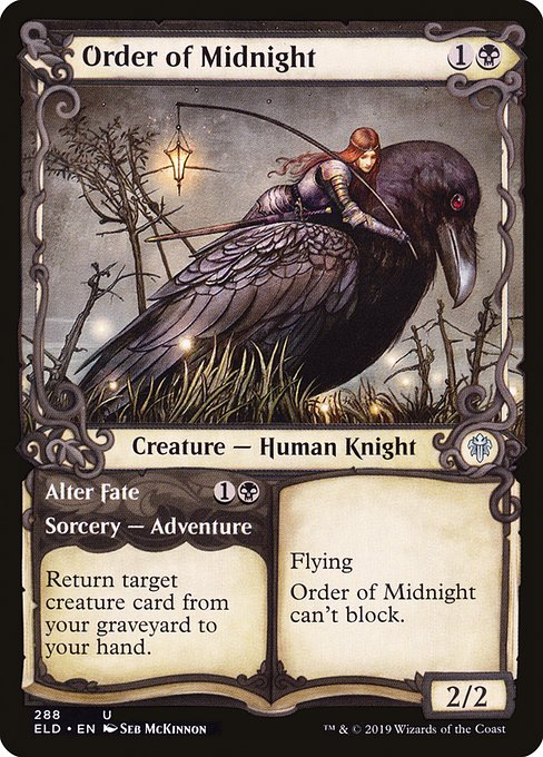 Order of Midnight // Alter Fate (ELD)