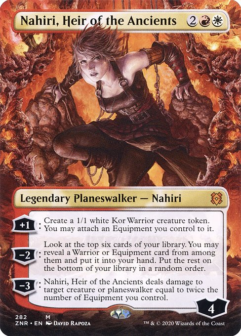 Nahiri, Heir of the Ancients (ZNR)