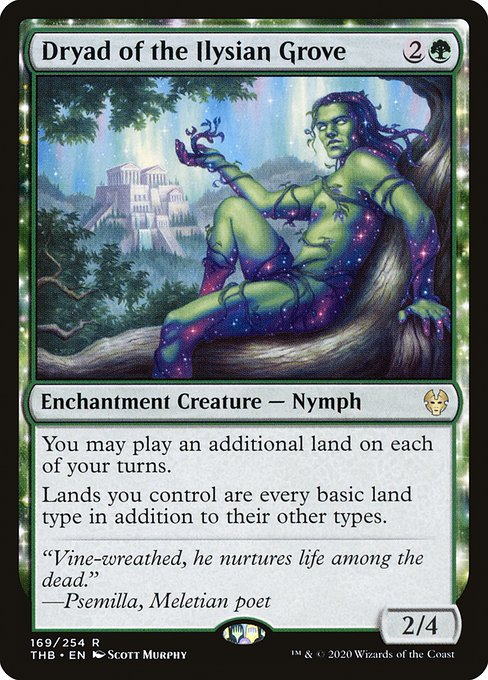 Dryad of the Ilysian Grove (THB)