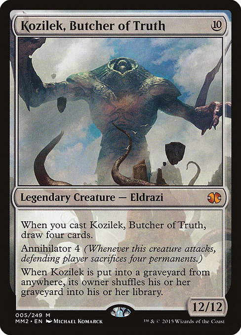 Kozilek, Butcher of Truth (MM2)