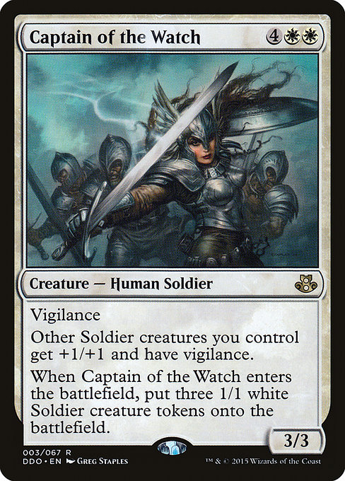 Captain of the Watch (DDO)