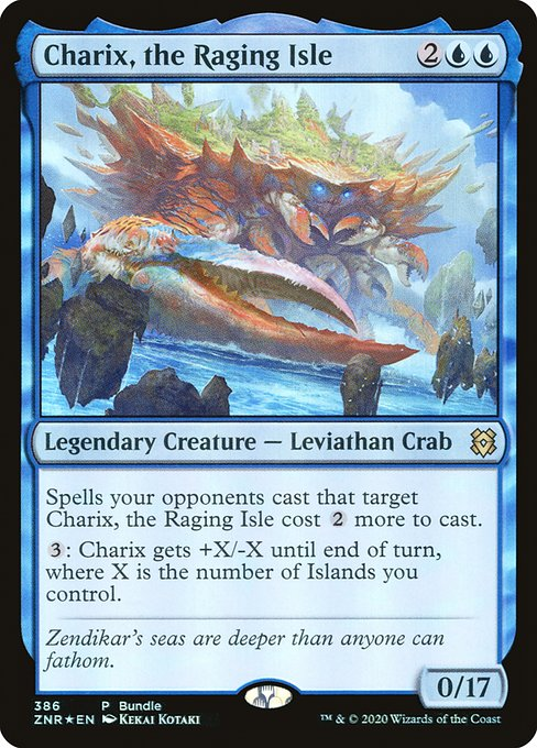 Charix, the Raging Isle (ZNR)