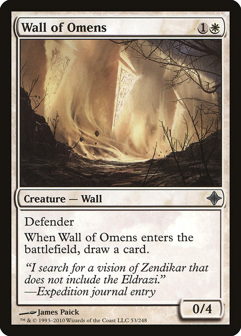Wall of Omens (ROE)