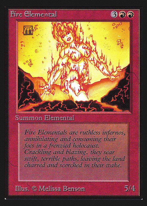 Fire Elemental (CED)