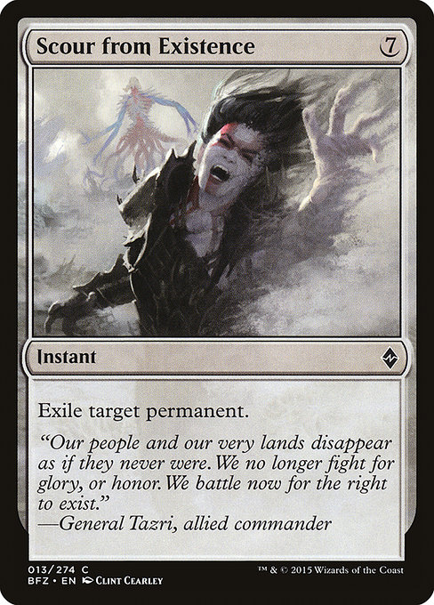 Scour from Existence (BFZ)
