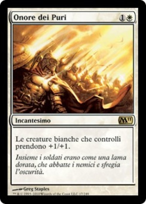 Honor of the Pure (M11)