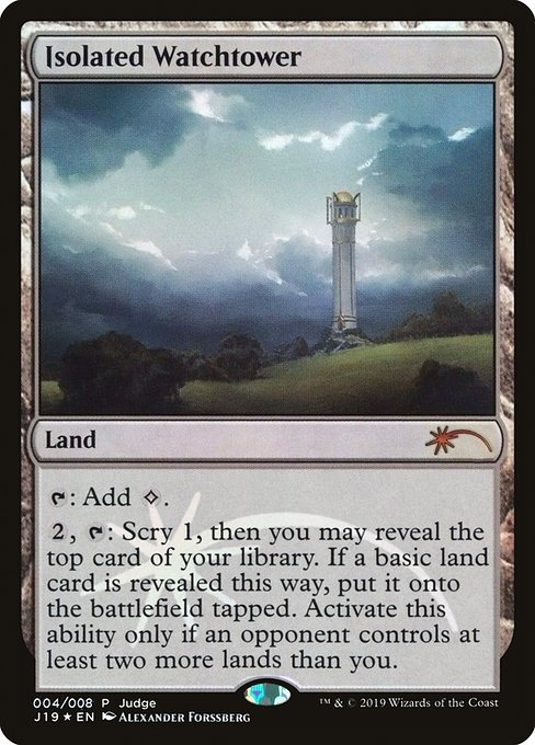 Isolated Watchtower (J19)