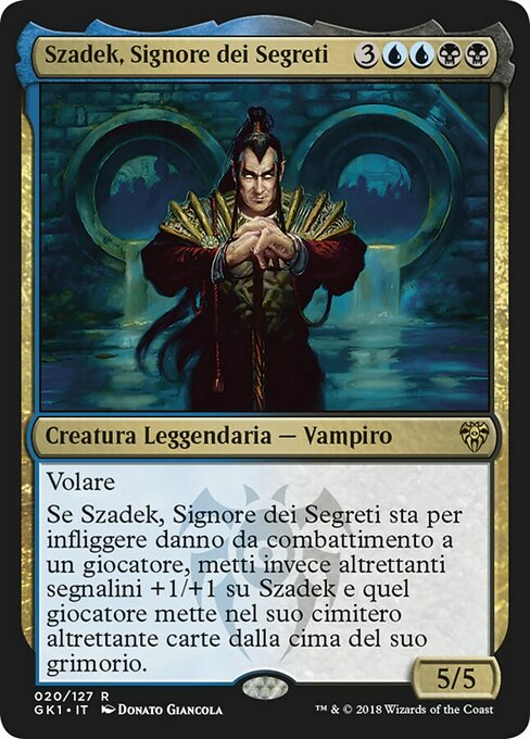 Szadek, Lord of Secrets (GK1)