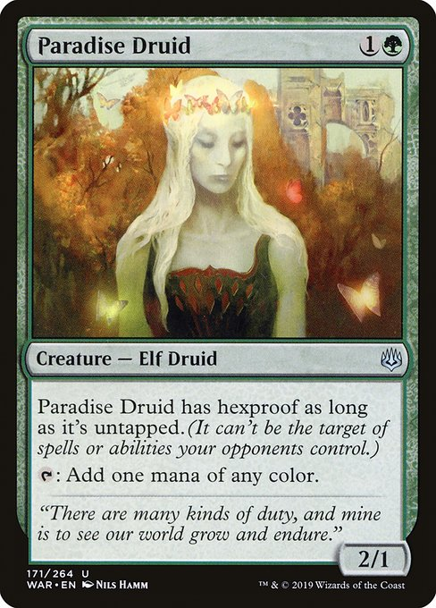 Paradise Druid (WAR)