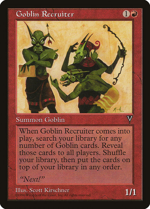 Goblin Recruiter (VIS)