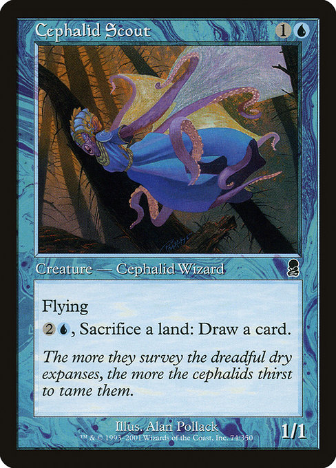 Cephalid Scout (ODY)