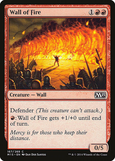 Wall of Fire (M15)