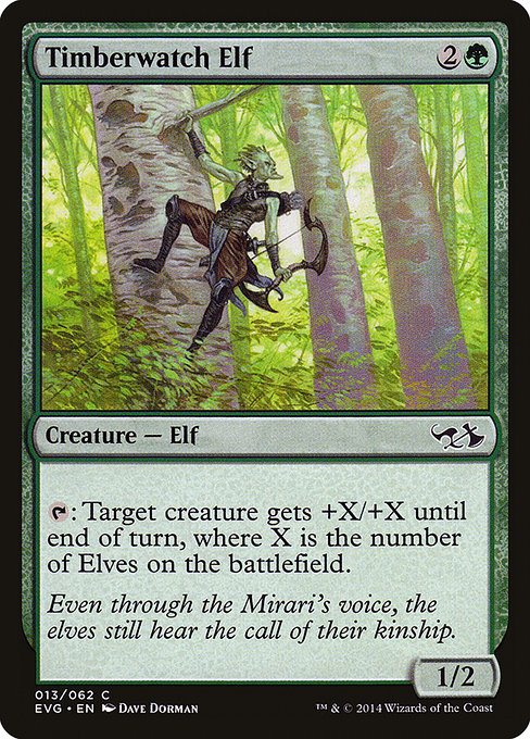Timberwatch Elf (EVG)