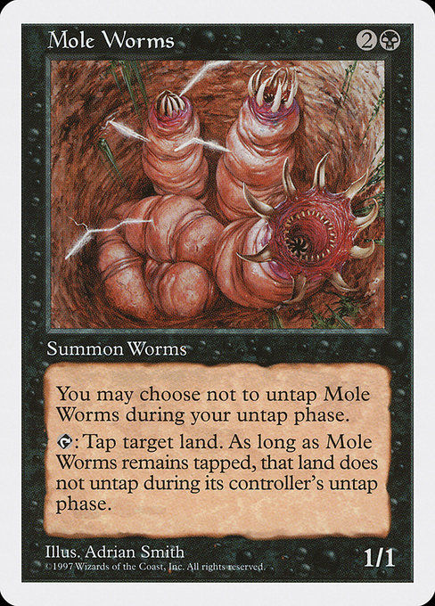Mole Worms (5ED)