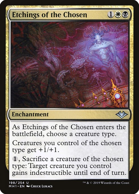 Etchings of the Chosen (MH1)