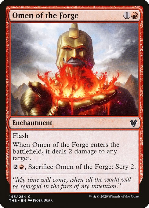 Omen of the Forge (THB)