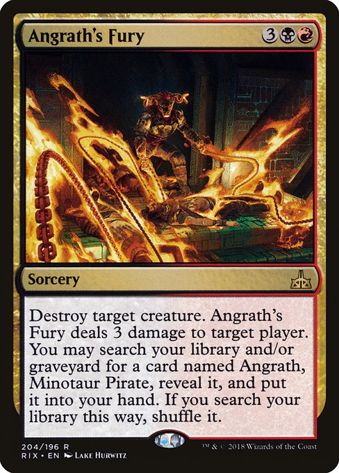 Angrath's Fury (RIX)