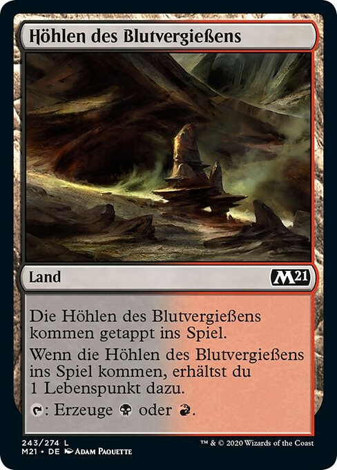 Bloodfell Caves (M21)