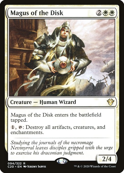 Magus of the Disk (C20)