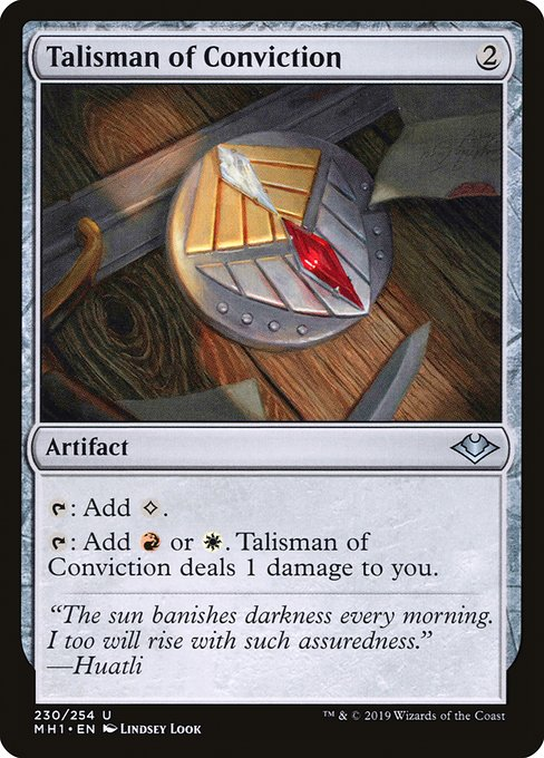 Talisman of Conviction (MH1)