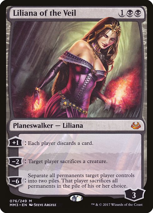 Liliana of the Veil (MM3)