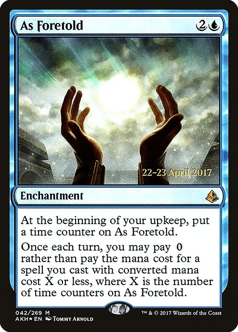 As Foretold (PAKH)