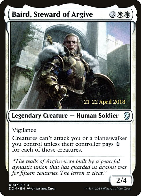 Baird, Steward of Argive (PDOM)