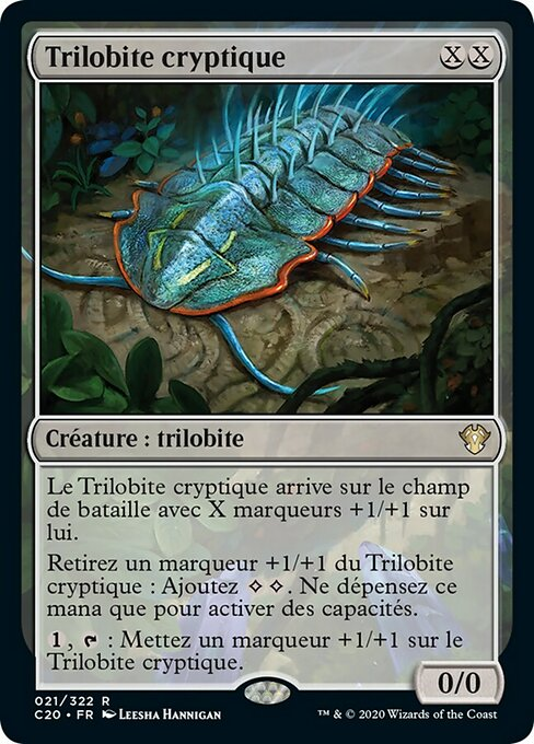 Cryptic Trilobite (C20)