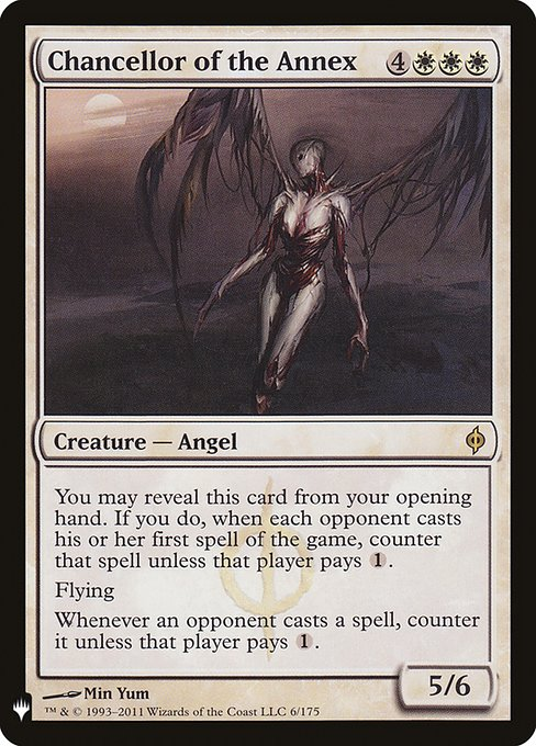 Chancellor of the Annex (MB1)