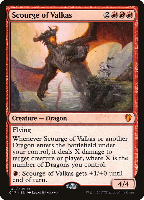 Scourge of Valkas (C17)