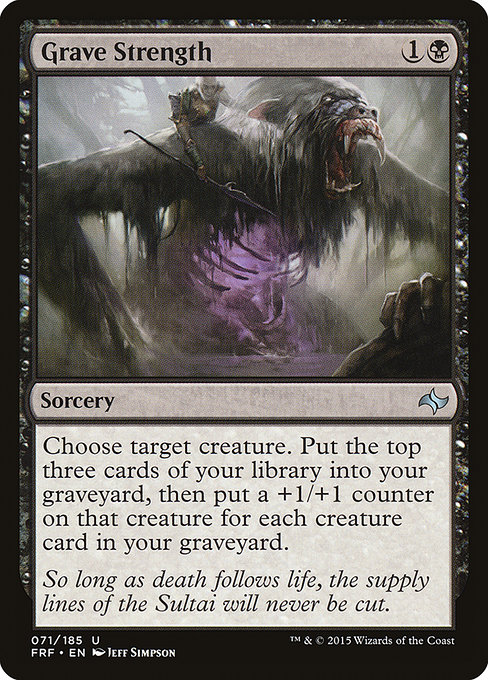 Grave Strength (FRF)