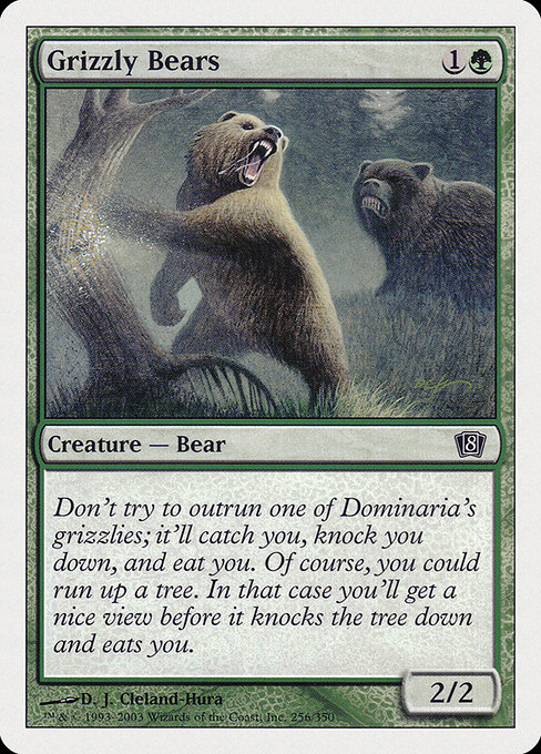Grizzly Bears (8ED)