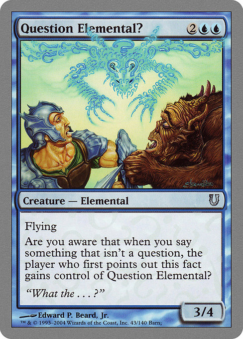 Question Elemental? (UNH)