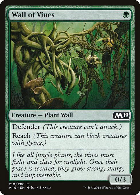 Wall of Vines (M19)