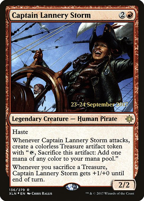 Captain Lannery Storm (PXLN)