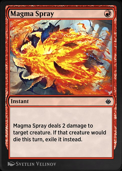 Magma Spray (AKR)