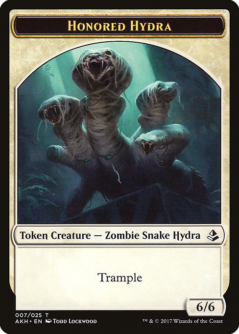Honored Hydra (TAKH)