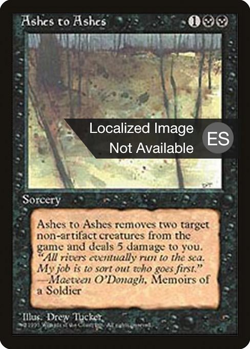 Ashes to Ashes (4BB)