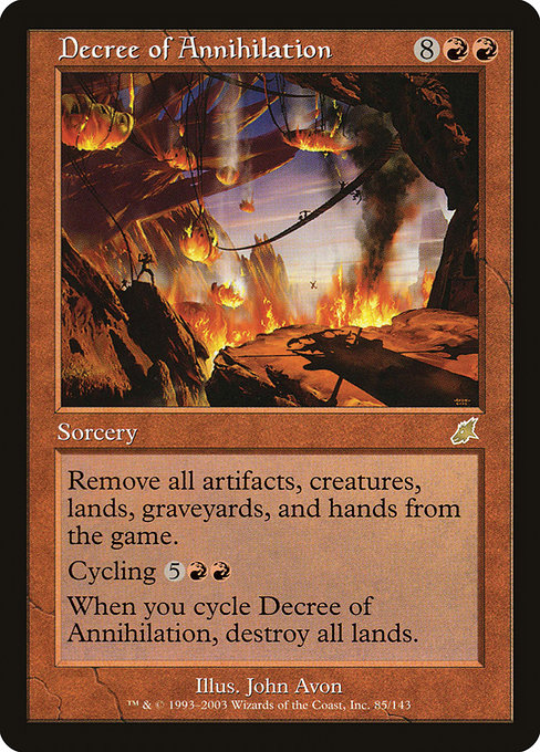 Decree of Annihilation (SCG)