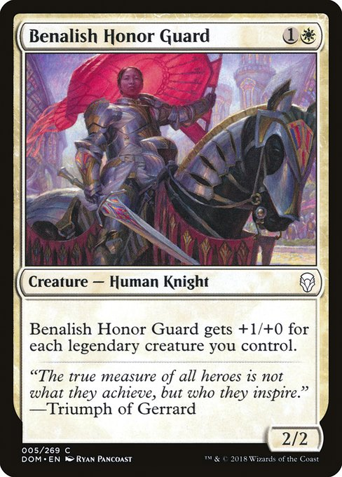 Benalish Honor Guard (DOM)
