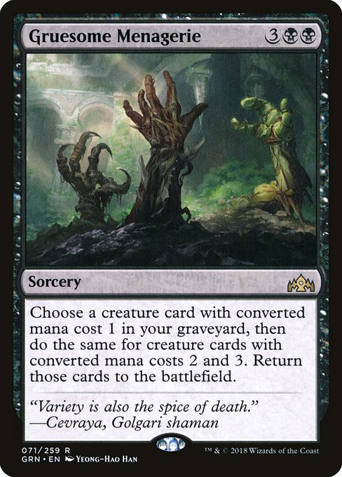 Gruesome Menagerie (GRN)