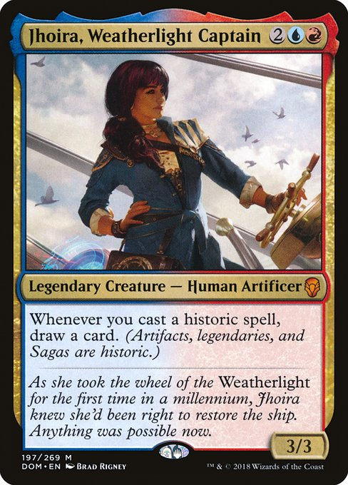 EDHREC - Jhoira, Weatherlight Captain (Commander)