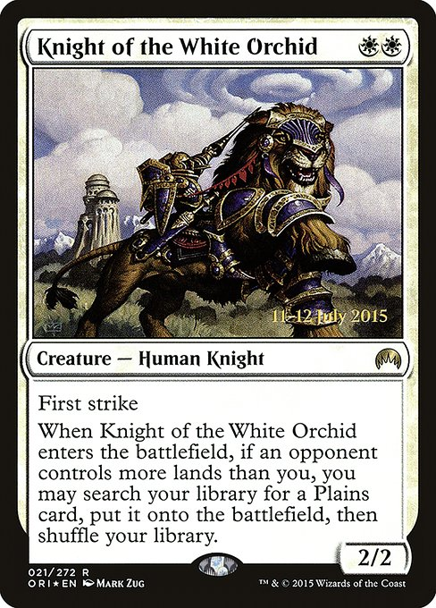 Knight of the White Orchid (PORI)