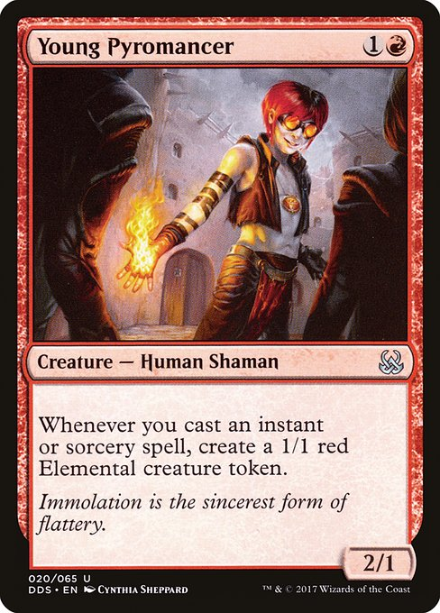 Young Pyromancer (DDS)