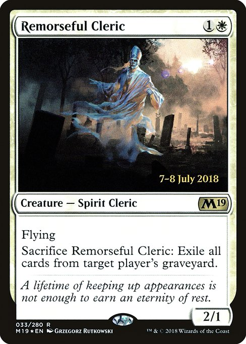 Remorseful Cleric (PM19)