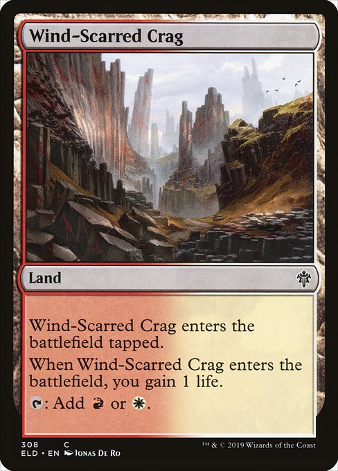 Wind-Scarred Crag (ELD)