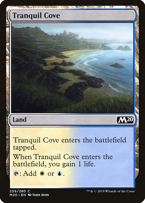 Tranquil Cove (M20)