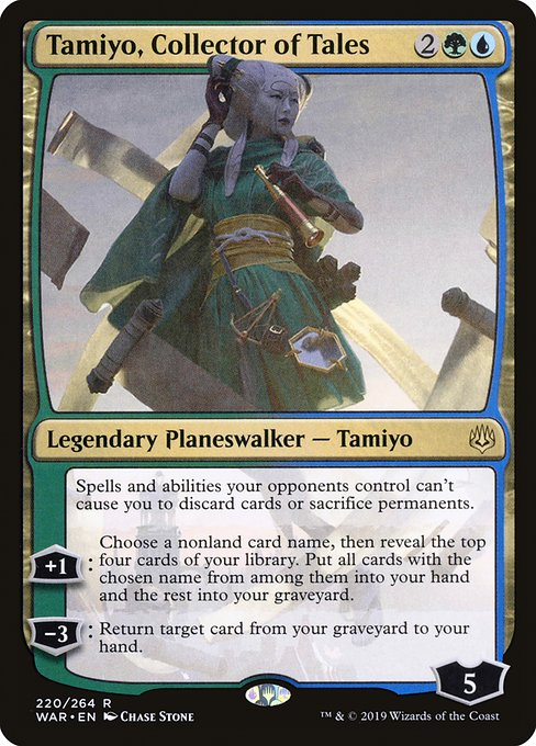 Tamiyo, Collector of Tales - Magic: the Gathering