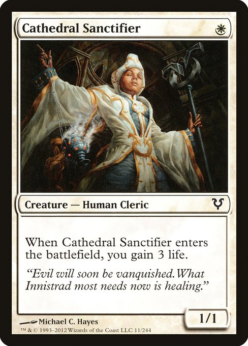 Cathedral Sanctifier (AVR)