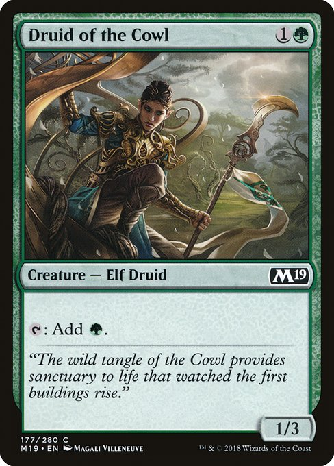 Druid of the Cowl (M19)